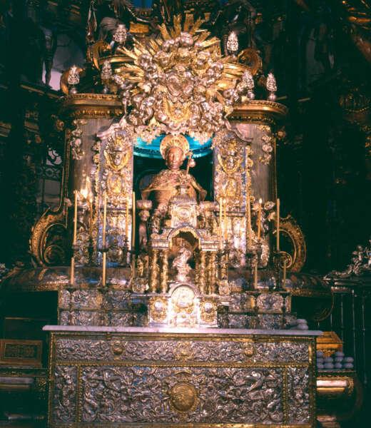 Altar Mayor Catedral Santiago